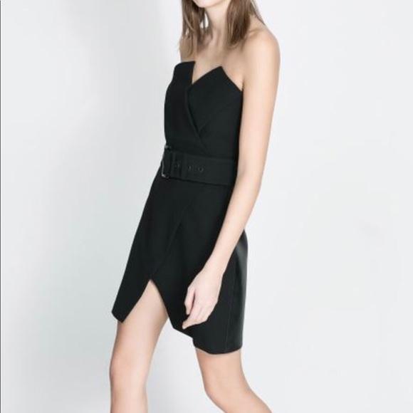 Zara Dresses The Perfect Tuxedo Style Lbd From Poshmark